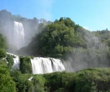 Der Wasserfall von Marmore